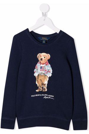 Ralph Lauren Logo bear print sweatshirt