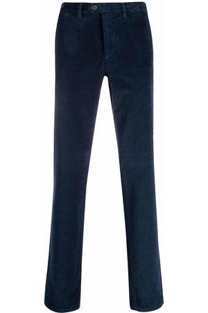 CANALI Pantalones slim con botón