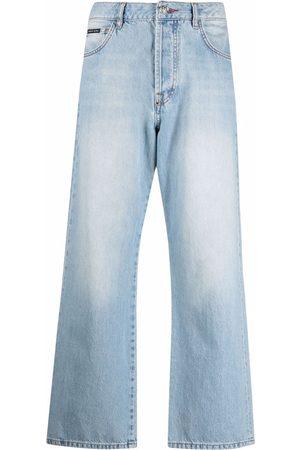 Philipp Plein Cropped denim jeans
