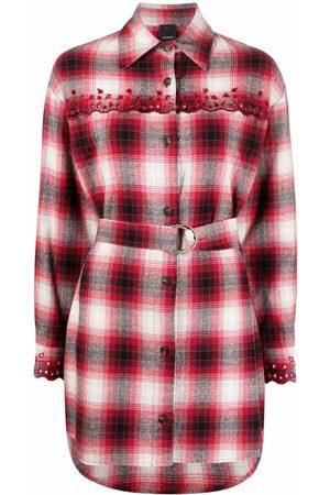 Pinko Camisa con motivo de cuadros