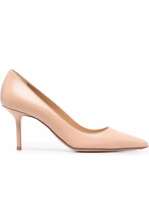 Francesco Russo Mujer Pumps - Mid-heel leather pumps