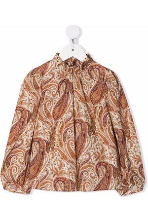 BONPOINT Paisley button-down shirt