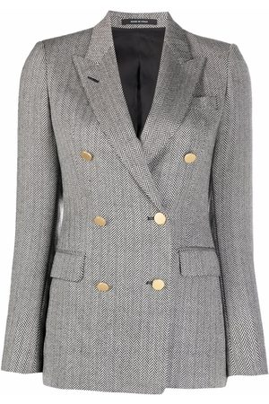 TAGLIATORE Mujer Sacos - Double-breasted tailored blazer