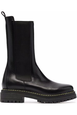 Pinko Mujer Botines - Chunky leather ankle boots