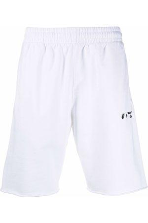 OFF-WHITE Logo-print track shorts