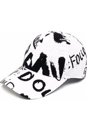 Dolce & Gabbana Graffiti-print cap