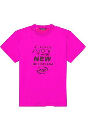 Balenciaga Slogan-print T-shirt
