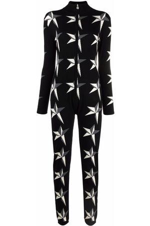 Perfect Moment Mujer Largos - Jumpsuit con estrellas en intarsia