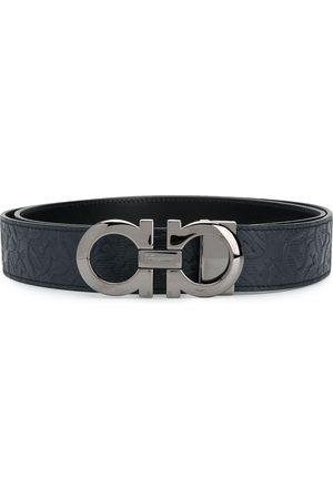 Salvatore Ferragamo Hombre Cinturones - Cinturón reversible con hebilla Gancini