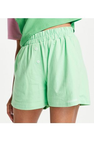 COLLUSION Boxer shorts in neon green