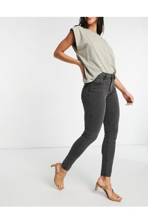 VERO MODA Mujer Skinny - Organic cotton blend skinny jeans in washed grey