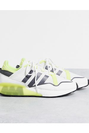 adidas ZX 2K Boost Pure trainers in yellow