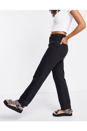 Cotton:On Straight leg jeans in black