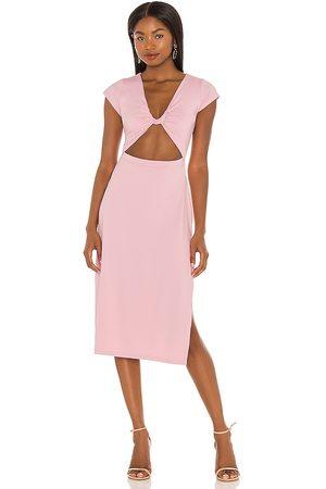 Susana Monaco Vestido en color rosado talla L en - Pink. Talla L (también en XS, S, M).