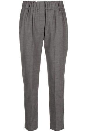 Brunello Cucinelli Mujer Pantalones y Leggings - Pantalones con pretina elástica
