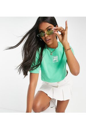Fila Towelling cropped t