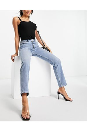 French Connection Mom jeans in light blue wash