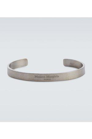 Maison Margiela Hombre Pulseras - Logo sterling silver cuff bracelet