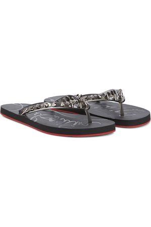 Christian Louboutin Loubi Flip Spikes thong sandals