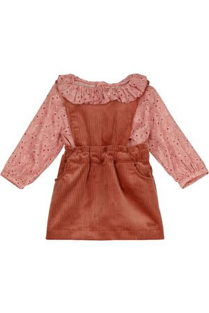 Chloé Baby paisley blouse and corduroy dress set