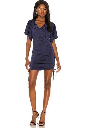 Lovers + Friends Vestido savannah en color talla L en - Navy. Talla L (también en M, S, XL, XS, XXS).