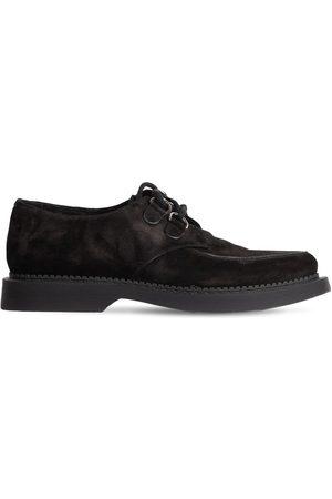 SAINT LAURENT Zapatos Derby De Ante