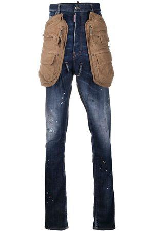 Dsquared2 Jeans rectos con tiro alto