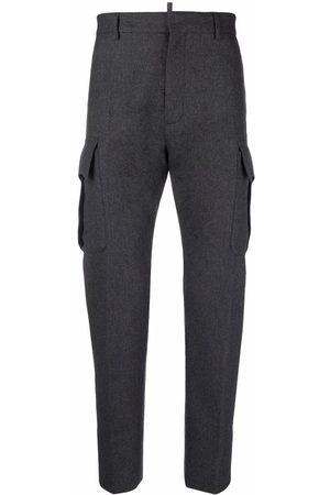 Dsquared2 Hombre Pantalones y Leggings - Pantalones tapered de fieltro