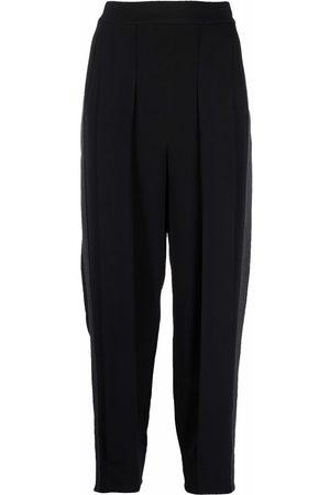 Stella McCartney Pantalones con costuras en contraste