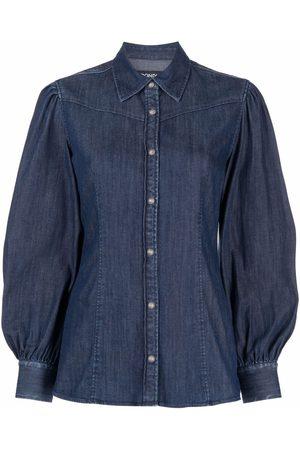 Dondup Camisa de mezclilla manga larga