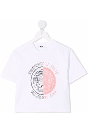 Msgm Camiseta University Of Youth