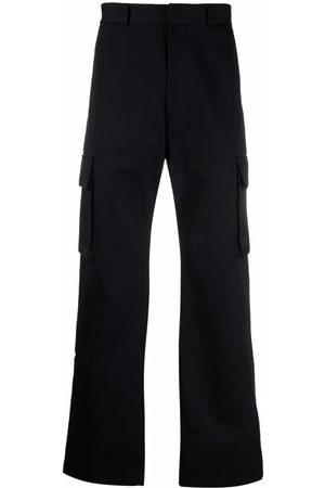 OFF-WHITE Pantalones rectos tipo cargo