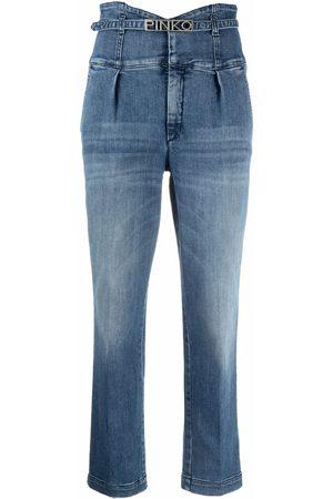 Pinko Jeans de talle alto
