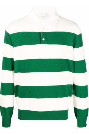 MACKINTOSH Camisa de rugby con motivo de rayas