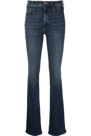 Mother Skinny jeans con tiro alto
