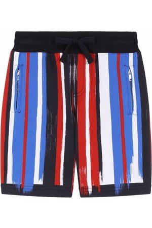 Dolce & Gabbana Shorts con motivo de rayas