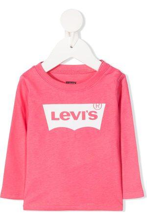 Levi's Kids Playera con logo estampado