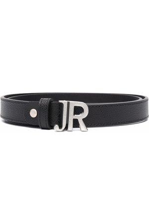 John Richmond Cinturón con hebilla del logo