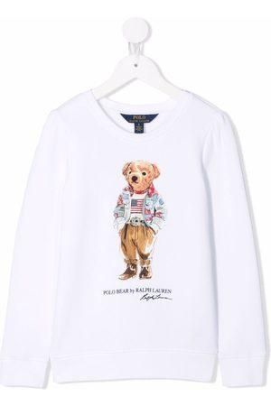 Ralph Lauren Niña Polos - Camiseta con estampado Polo Bear
