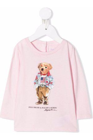 Ralph Lauren Polos - Camiseta con estampado Polo Bear