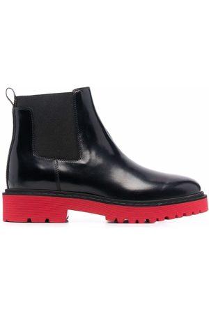 Hogan Mujer Botas y Botines - Chelsea contrast-sole boots