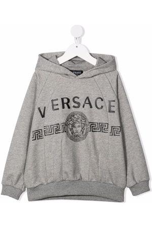 VERSACE Niño Con capucha - Medusa-head print hoodie