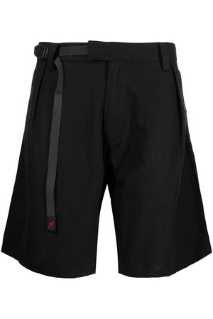 WHITE MOUNTAINEERING Hombre Bermudas - X Gramicci linen-blend belted shorts
