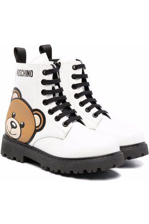 Moschino Kids Botas con estampado Teddy Bear