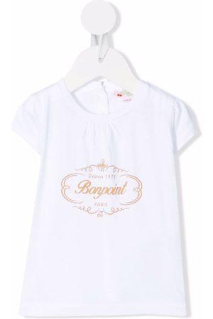 BONPOINT Playeras - Logo-print cotton T-shirt