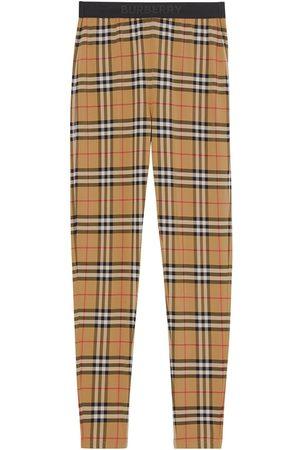 Burberry Mujer Leggings y treggings - Leggins con motivo Vintage Check