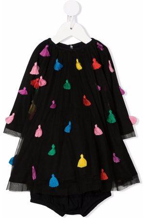 Stella McCartney Kids Tassel-detail shift dress