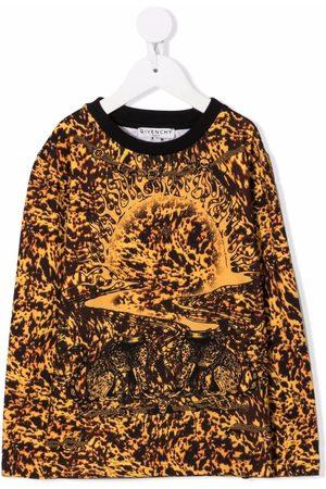 Givenchy Kids Graphic print T-shirt