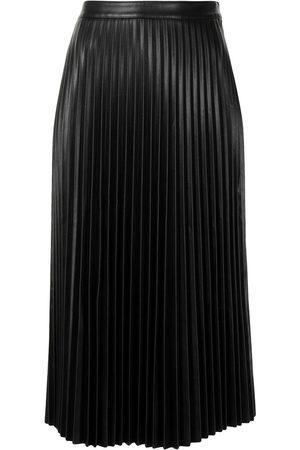 PROENZA SCHOULER WHITE LABEL Falda plisada con cintura alta