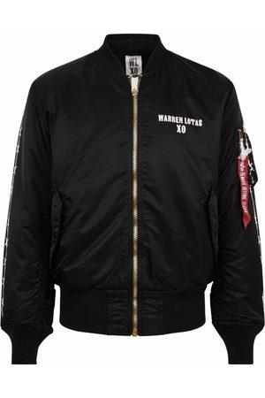 The Weeknd X Warren Lotas XO bomber jacket